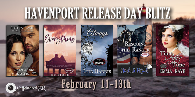Celebrating Release Day of 5 Havenport Romance Stories
