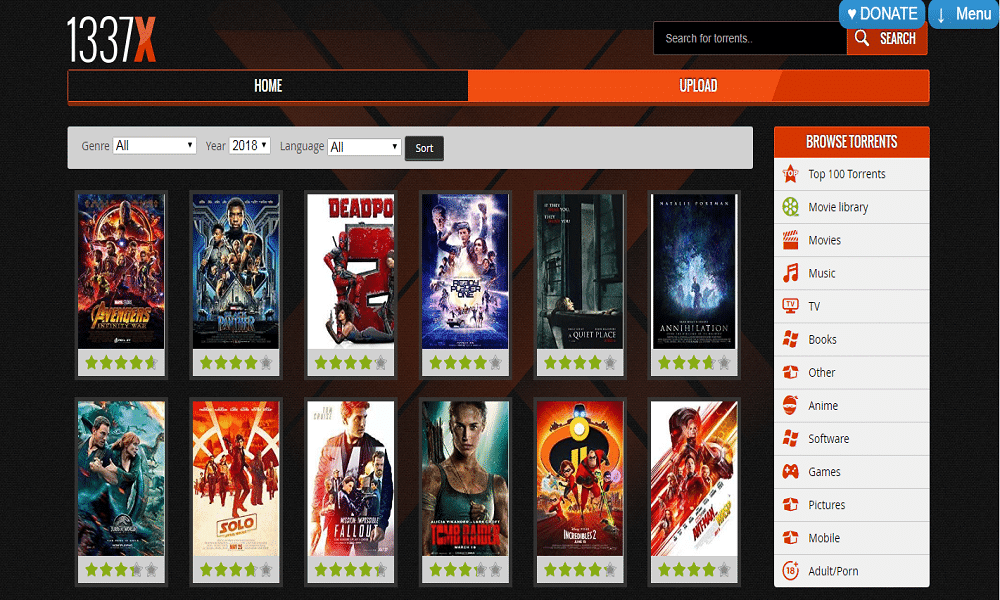 1337X 2020: 1337X Illegal HD Movies and TV series Download, Latest 1337X Website Movies