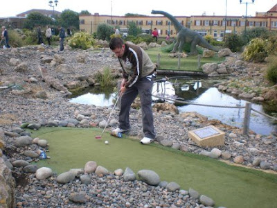 Lost World Adventure Golf course in Tynemouth