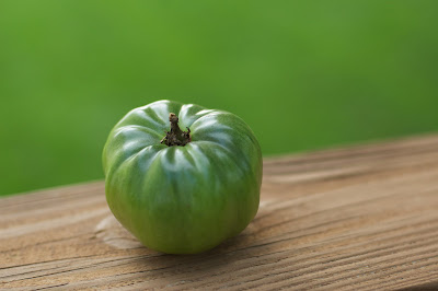 Green tomato. Credit: Jeff Kubina/Flickr/CC BY-SA 2.0