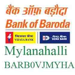 Vijaya Baroda Bank Mylanahalli Branch New IFSC, MICR