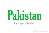 Pakistan Emergency Contact Phone Number