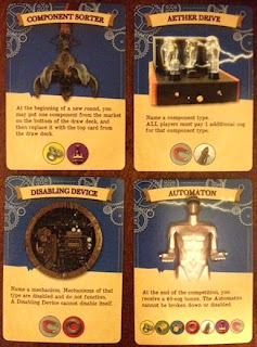 cards from Mars Needs Mechanics board game