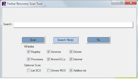 Farbar Recovery Scan Tool (FRST) Download Free