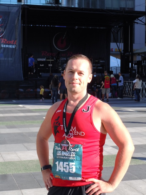 LA Rock'n'Roll Half Marathon Jason 2011