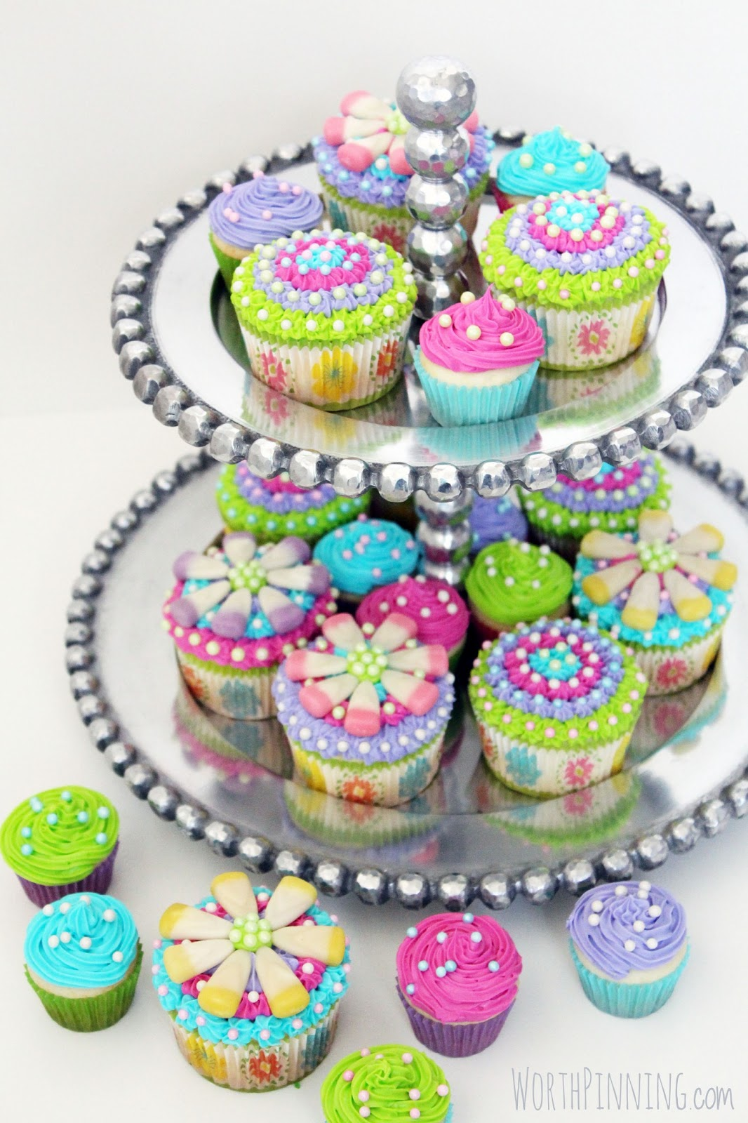 Birthday Cake Flavored Cupcakes
