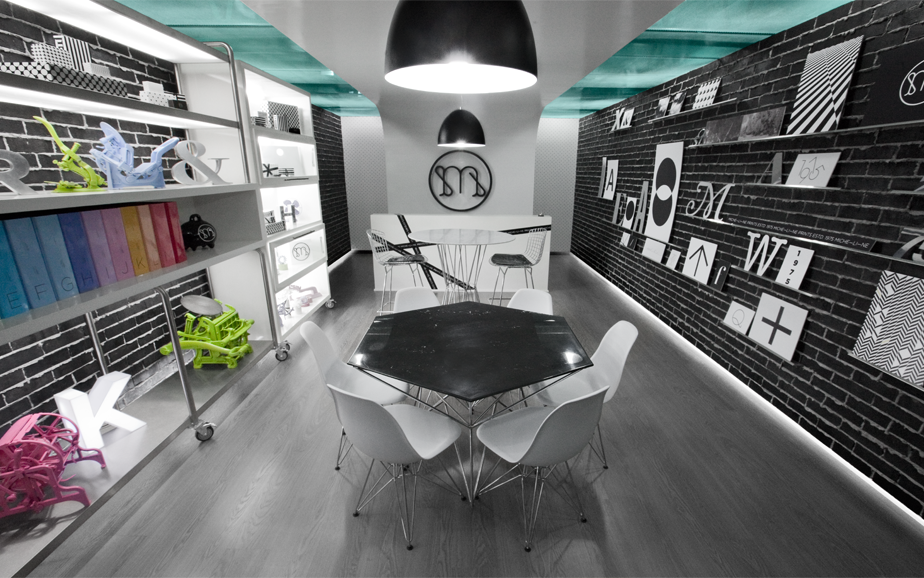 Retail Interior Design | Micheline Printing Boutique ...
