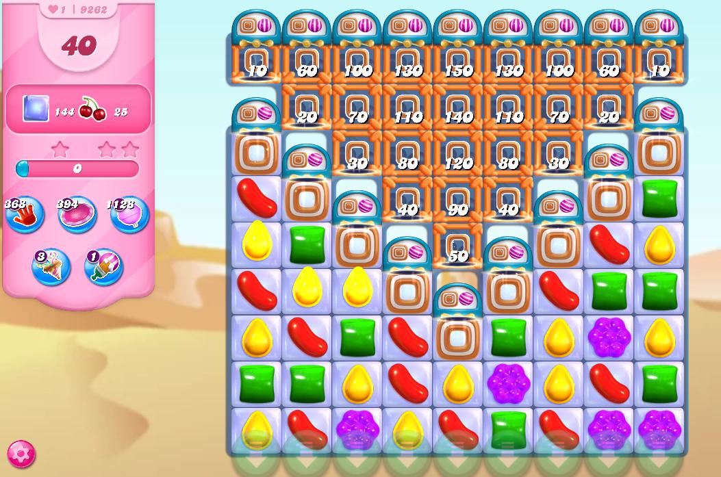 Candy Crush Saga level 9262