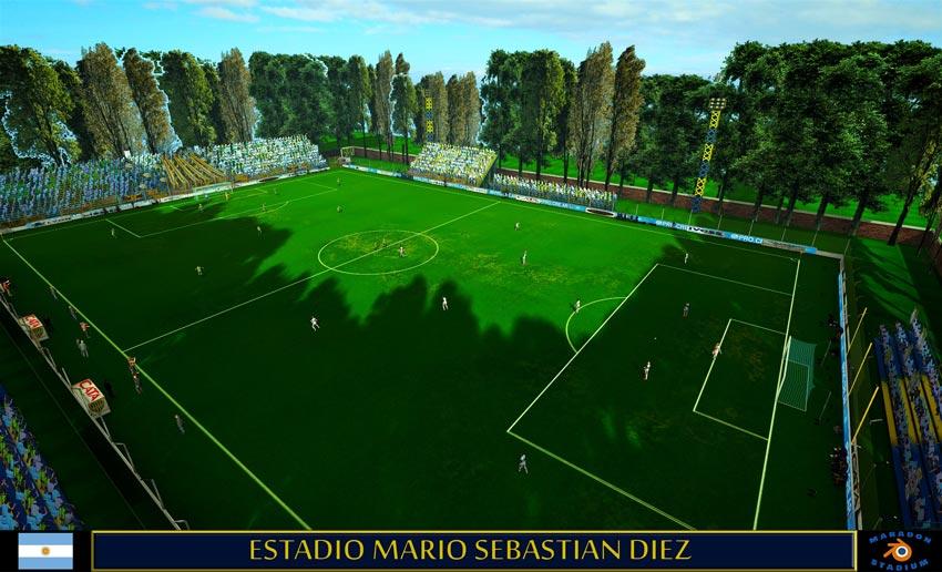 Estadio Mario Sebastian Diez For PES 2013