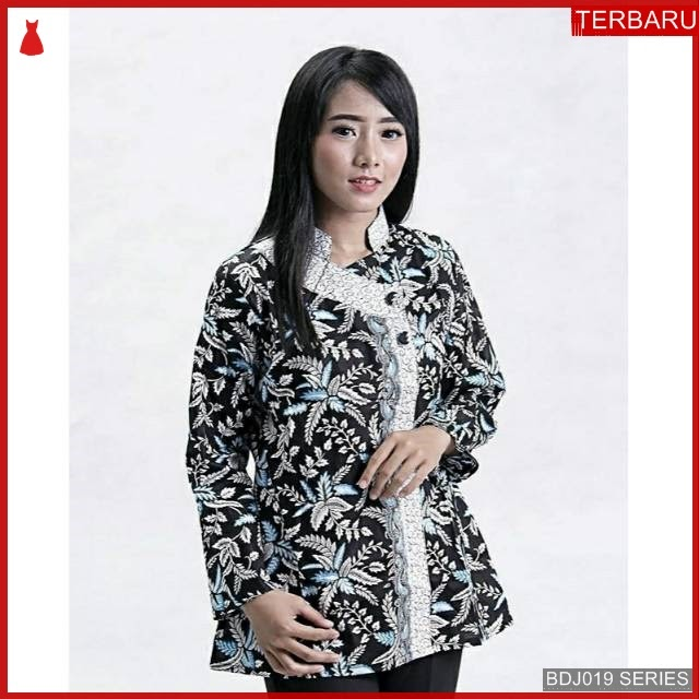 BDJ19B51 Blouse Batik 0050 Terbaru BMGShop
