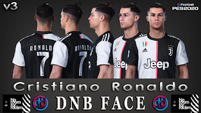 PES 2020 Faces Cristiano Ronaldo V3 by DNB