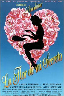 La flor de mi secreto (1995) Comedia dramatica de Pedro Almodóvar