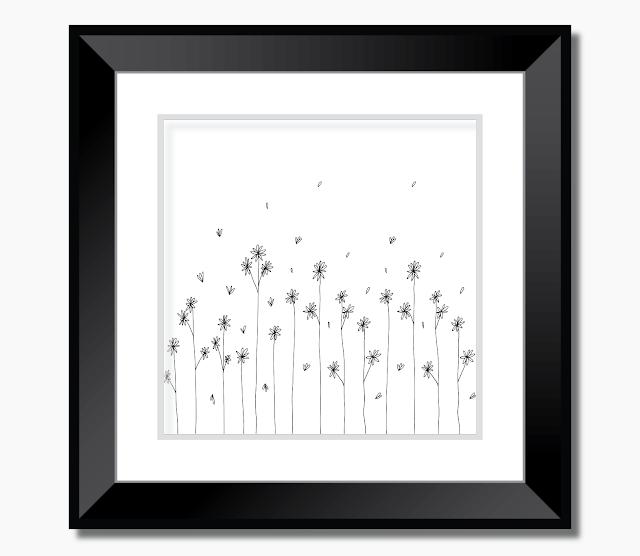 Simple Garden Doodle Art