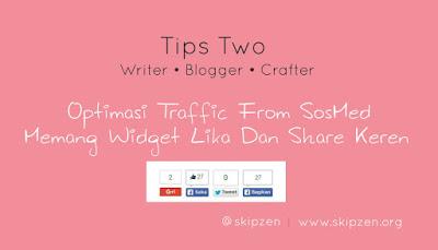 Cara Memasang Tombol Share Menarik di blog