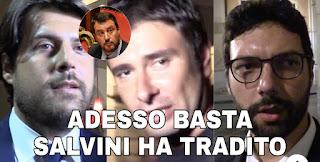 Ultima Ora: M5S chiude a Salvini, ha tradito. Renzi, un altro inaffidabile. Ecco cosa sta succedendo.