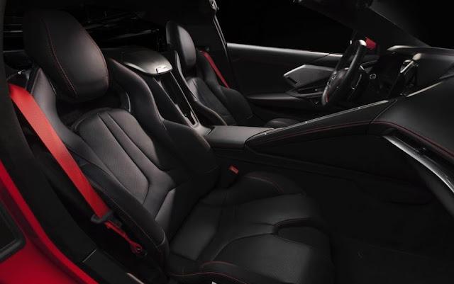 2020 Chevrolet Corvette C8 Seating