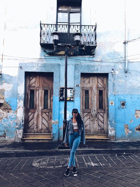 Centro Historico Zocalo Oaxaca City Mexico