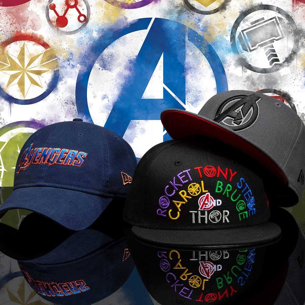 the best attitude 42046 6e89e Avengers  Endgame 59FIFTY Hat Collection by New Era Cap x Marvel