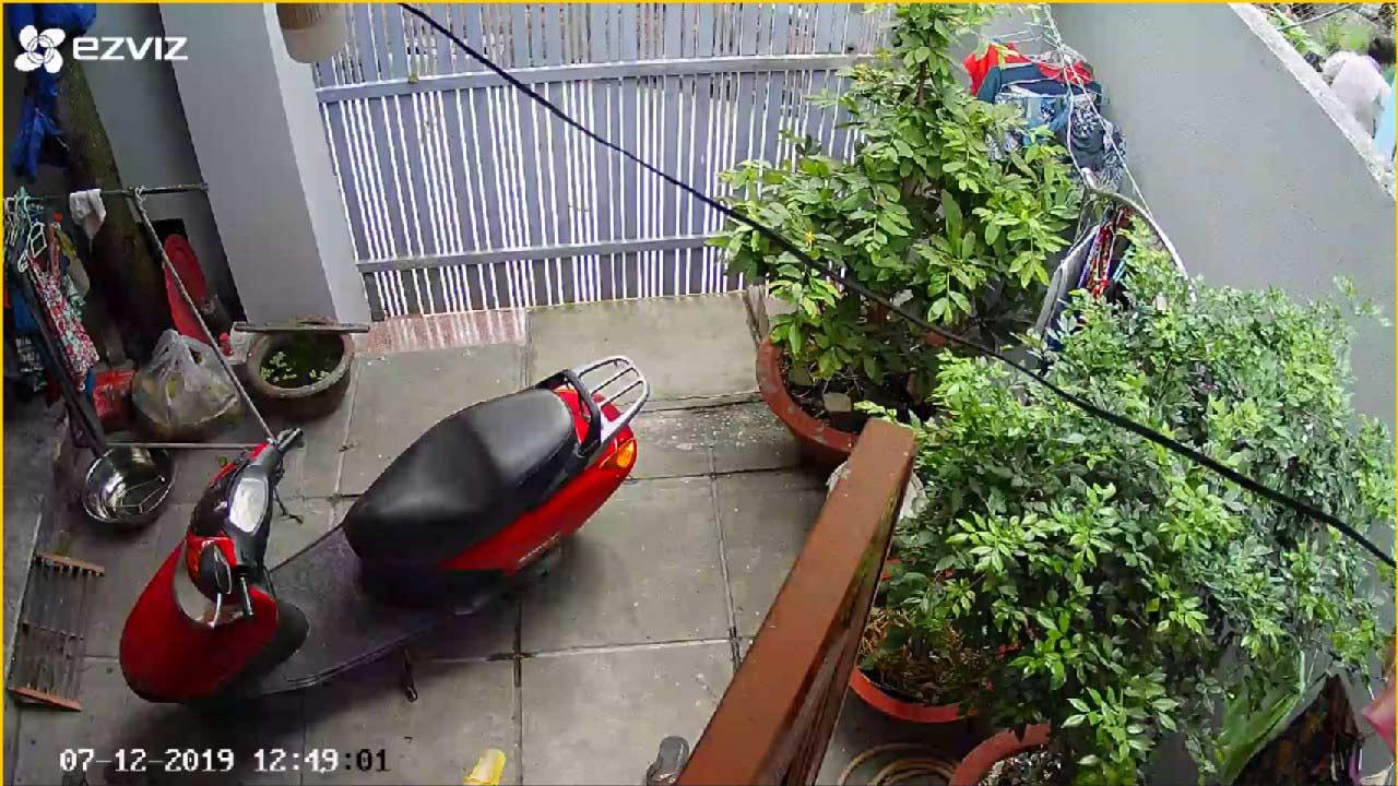camera ezviz hỗ trợ xoay 360 độ