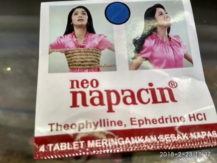 Review Obat Sesak Nafas Neo Napacin