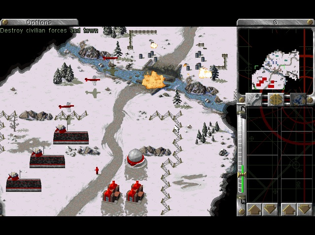 Screenshot of Command & Conquer: Red Alert