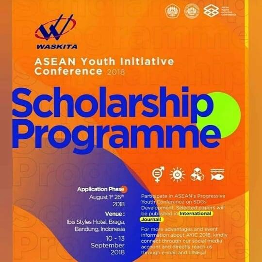 Beasiswa Konferensi Pemuda ASEAN 2018