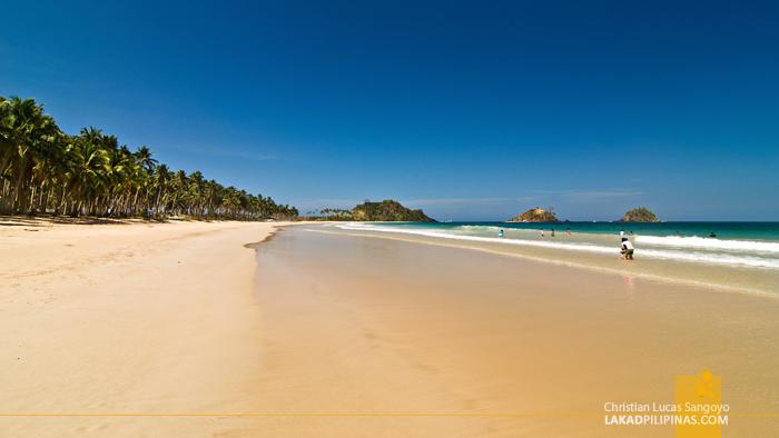 El Nido Nacpan Beach Palawan