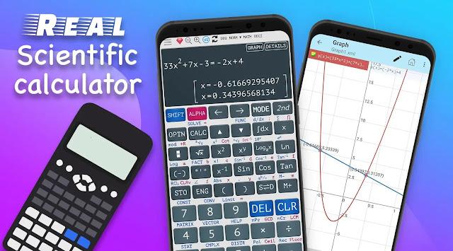 قم بتنزيل الآلة الحاسبة العلمية الذكية (115 * 991/300)  Premium  - آلة حاسبة علمية  متقدمة لنظام الاندرويد