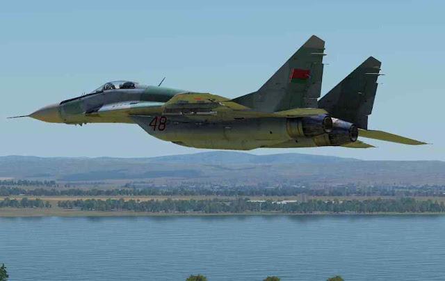MiG-29 bielorrusso obrigou pousar um avião comercial para sequestrar passageiro