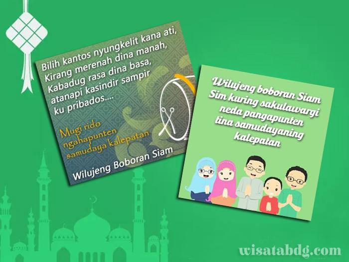 Kumpulan Ucapan Selamat Idul Fitri Dalam Bahasa Sunda Wisatabdg Com