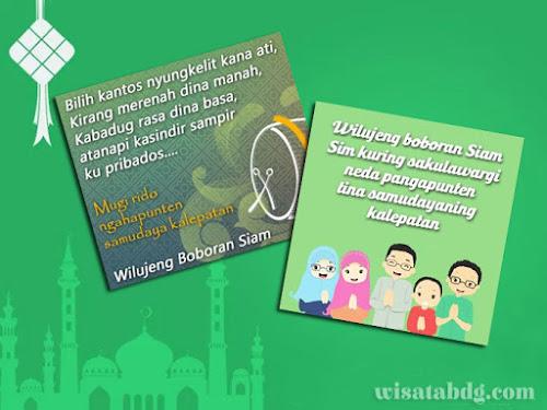 Ucapan selamat Idul Fitri dalam Bahasa Sunda
