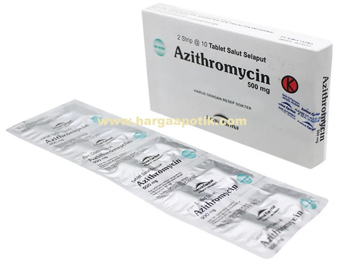 Harga Azithromycin 500 mg di Apotik