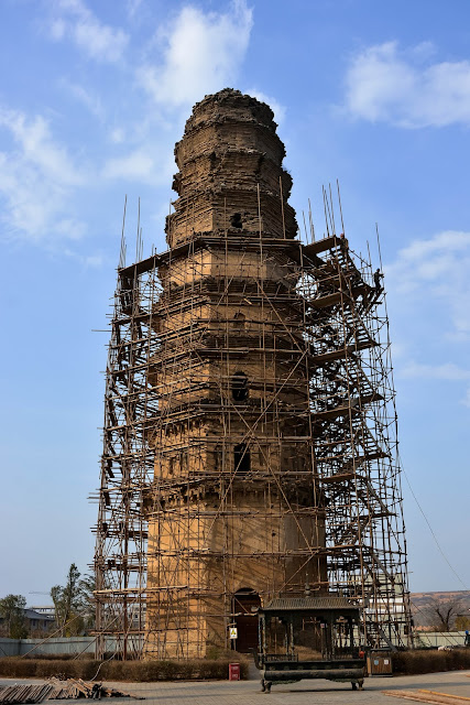 Thousand-year-old pagoda in central China renovated