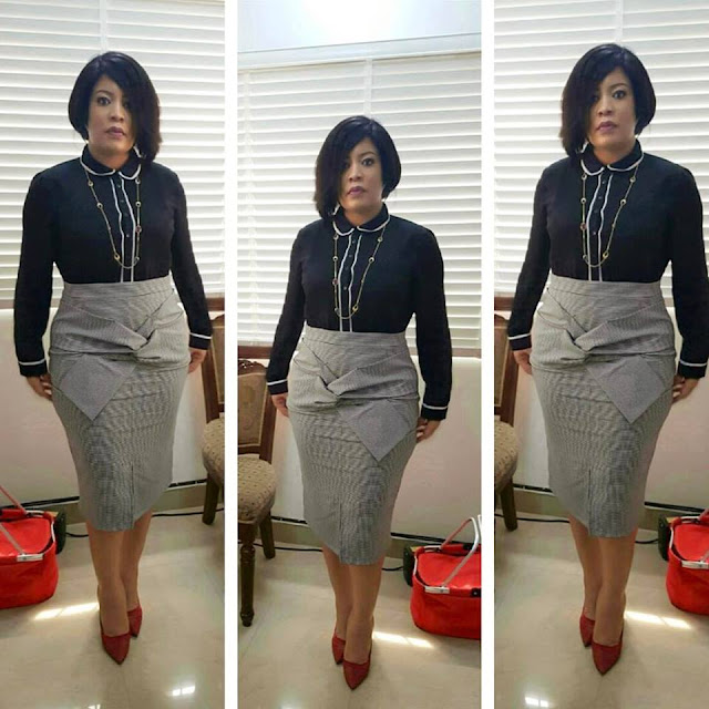 Monalisa Chinda' s Dress code today- celebrity news