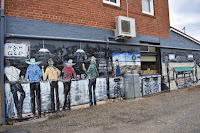 Street Art in Gunning by Michael Fitch