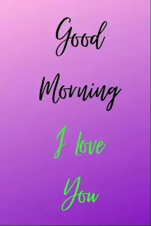 I Love You Good Morning Images