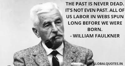 williams faulkner quotes