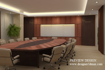 Jasa Design Big Meeting Room Online Murah Berkualitas