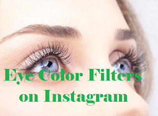 Eye color filter instagram  | Easy to get eye color filters on Instagram