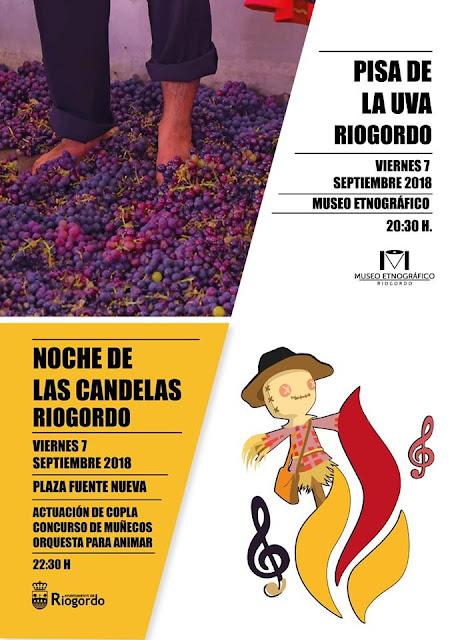 Fiesta de la Pisá y Noche de las Candelas en Riogordo