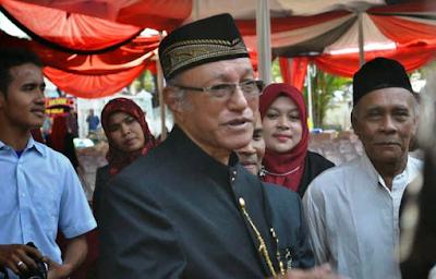 Wali Nanggroe: Syari'at Islam Bukan Keinginan Rakyat Aceh