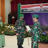 Pangdam Lantik Pejabat Baru Kodam Hasanuddin , Berikut Daftar Nama Pejabat Baru