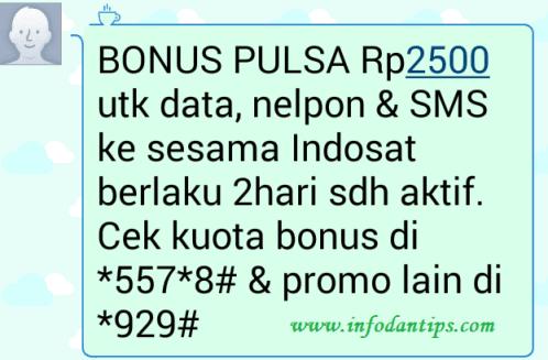 Pengalaman Mendapatkan Bonus Pulsa Onnet Indosat Im3 Ooredoo