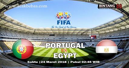 Prediksi Skor Portugal Vs Mesir 24 Maret 2018