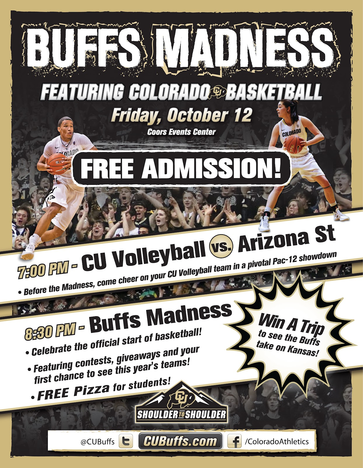 the rumblings of a deranged buffalo quick post buffsmadness flyer