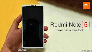 Redmi Note 5 Price and Specifications Leaked