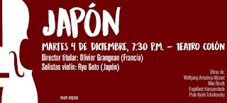 Concierto JAPÓN por la Sinfónica Nacional | Teatro Colon