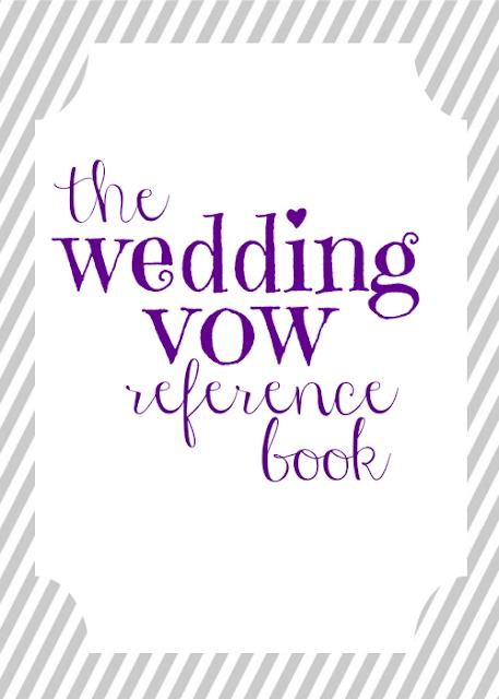 Printable Wedding Book Cover ~ Wedding vow mad libs free printable