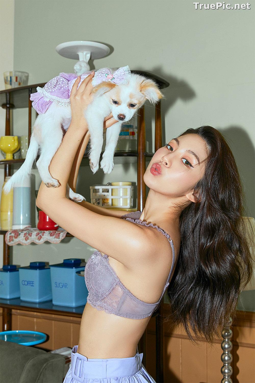 Image Korean Fashion Model – Lee Chae Eun (이채은) – Come On Vincent Lingerie #3 - TruePic.net - Picture-5