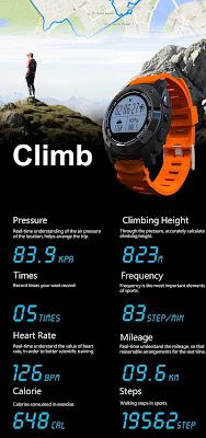 S928 GPS Smartwatch